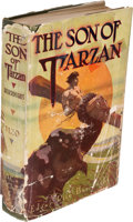 Books:Fiction, Edgar Rice Burroughs. The Son of Tarzan. Chicago: A. C. McClurg & Co., 1917. First edition of Burroughs' fourth hard...