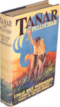 Books:Science Fiction & Fantasy, Edgar Rice Burroughs. Tanar of Pellucidar. New York: Metropolitan Books, [1930]. First edition....