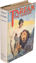 Books:Fiction, Edgar Rice Burroughs. Tarzan the Untamed. Chicago: A. C.McClurg & Co., 1920. First edition. Octavo. [viii], 428 pag...