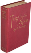 Books:Fiction, Edgar Rice Burroughs. Tarzan of the Apes. Chicago: A. C. McClurg & Co., [1914]. First edition, first state (sp...
