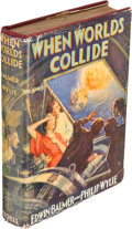 Books:Science Fiction & Fantasy, Edwin Balmer and Philip Wylie. When Worlds Collide. New York: Frederick A. Stokes Company, 1933. First edition. ...