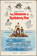 "Movie Posters:Adventure, The Adventures of Huckleberry Finn & Other Lot (MGM, 1960).Posters (3) (40"" X 60"") Style Y. Adventure.. ... (Total: 3 Items)"