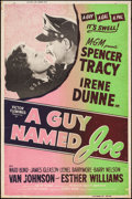 """Movie Posters:War, A Guy Named Joe & Other Lot (MGM, R-1955). Silkscreened Posters(2) (40"""" X 60""""). War.. ... (Total: 2 Items)"""