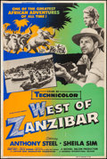 "Movie Posters:Adventure, West of Zanzibar & Others Lot (Universal International, 1954).Posters (3) (40"" X 60""). Adventure.. ... (Total: 3 Items)"