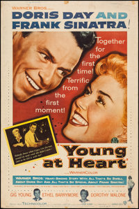 """Young at Heart & Others Lot (Warner Brothers, 1955). Posters (3) (40"""" X 60""""). Musical. ... (Total: 3 Items..."""