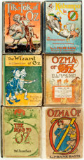 Books:Children's Books, [L. Frank Baum]. Group of Six Reprint Edition OZ Books.Various publishers and dates. . ... (Total: 6 Items)