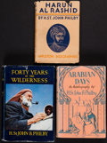 Books:World History, H. St. John Philby. Three Titles on the Middle East. London, New York: 1934-1948.... (Total: 3 Items)