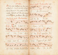 Books:Manuscripts, [Manuscript Processional]. [Use of France, circa 1690]....
