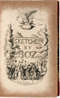 Books:Literature Pre-1900, [Charles Dickens]. George Cruikshank, illustrator. Sketches byBoz Illustrative of Every-Day Life and Every-Day People. ...