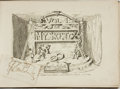 Books:Art & Architecture, George Cruikshank, English illustrator (1792 - 1878). My Sketch Book, Vol. I, with Clipped Signature L...