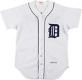 Baseball Collectibles:Uniforms, 1989 Lou Whitaker Game Worn Batting Practice Jersey. ...