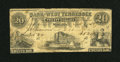 Obsoletes By State:Tennessee, Memphis, TN- Bank of West Tennessee $20 Oct. 1, 1859. ...