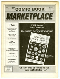 Comic Book Marketplace #2 (Gary Carter, 1991) Condition: VF/NM. Black and white with newsprint cover. Not listed in Over...