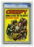 Magazines:Horror, Creepy #1 (Warren, 1964) CGC VF/NM 9.0 Cream to off-white pages. Warren's first full-length horror comic magazine. First app...