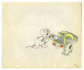 "Original Comic Art:Miscellaneous, Walt Disney Studios - ""The Country Cousin"" Animation ProductionDrawing Original Art (Disney, 1936). Country cousin, Abner, ..."