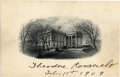 "Autographs:U.S. Presidents, Engraving of the White House Signed by Theodore Roosevelt asPresident, 6.25"" x 4"", adding the date, ""Feb 11th 1909"" in... (Total: 1 Item)"