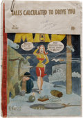 Original Comic Art:Miscellaneous, Mad #4 Cover Color Guide Production Art (EC, 1953). Here's a realfind, from the Mad Magazine Archive files! This is the...