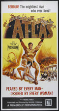"Movie Posters:Action, Atlas (Film Group, Inc., 1961). Three Sheet (41"" X 81""). Sword and Sandal Adventure. Directed by Roger Corman. Starring Mich..."