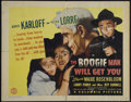 """Movie Posters:Horror, The Boogie Man Will Get You (Columbia, 1942). Half Sheet (22"""" X 28""""). Horror Comedy. Directed by Lew Landers. Starring Boris..."""