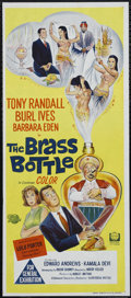 """Movie Posters:Comedy, The Brass Bottle (Universal, 1964). Australian Daybill (13"""" X 30""""). Comedy. Directed by Harry Keller. Starring Tony Randall,..."""