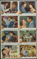 """Movie Posters:Drama, The Bribe (MGM, 1949). Lobby Card Set of 8 (11"""" X 14""""). Crime. Directed by Robert Z. Leonard. Starring Robert Taylor, Ava Ga... (Total: 8 Items)"""