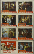 """Movie Posters:Drama, Bright Leaf (Warner Brothers, 1950). Lobby Card Set of 8 (11"""" X 14""""). Drama. Directed by Michael Curtiz. Starring Gary Coope... (Total: 8 Items)"""