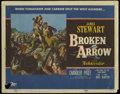"Movie Posters:Western, Broken Arrow (20th Century Fox, 1950). Title Card and Lobby Cards (2) (11"" X 14""). Western. Directed by Delmer Daves. Starri... (Total: 3 Items)"