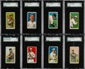 Baseball Cards:Lots, 1909-11 T206 Piedmont/Sweet Caporal SGC Graded Collection (16) Witha Southern Leaguer. ...
