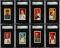 Baseball Cards:Lots, 1909-11 T206 Piedmont/Sweet Caporal SGC Graded Collection (16) WithSouthern Leaguer. ...