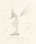 Works on Paper, Salvador Dalí (Spanish, 1904-1989). Untitled (Sea Horse). Pencil on board. 17 x 14 inches (43.2 x 35.6 cm) (sheet). Sign...