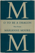 Books:Literature 1900-up, Marianne Moore. SIGNED. O To Be a Dragon. New York: TheViking Press, 1959. . ...