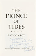 Books:Literature 1900-up, Pat Conroy. The Prince of Tides. Boston: Houghton Mifflin,1986. From the Estate of Rod McKuen....