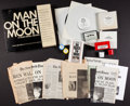 Books:Americana & American History, [First Moon Landing]. Man on the Moon. A Multi-MediaArchive. New York Times Educational Division, [1969]....