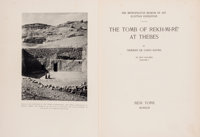 [Egyptology]. Norman de Garis Davies. The Tomb of Rekh-mi-re' at Thebes... In Two Volumes. New