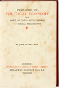 Books:Reference & Bibliography, [Economics]. John Stuart Mill. Principles of Political Economywith Some of Their Applications to Social Philosophy. ...