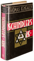 Books:World History, Thomas Keneally. Schindler's Ark. London: Hodder andStoughton, [1982]. First edition. ...