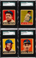 Baseball Cards:Lots, 1948 Leaf Baseball Partial Set (27). ...