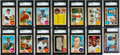 Baseball Cards:Sets, 1968 Topps Baseball Spectacularly High Grade Complete Set (598)Plus 8 Variations. ...