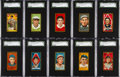 Baseball Cards:Lots, 1911 T205 Hassan & Sovereign SGC 60 EX 5 Collection (10) WithHoFer & Minor Leaguer. ...