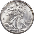 Walking Liberty Half Dollars, 1927-S 50C MS66 PCGS. CAC....