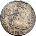 Early Dimes, 1796 10C JR-2, R.4 VF30 PCGS....