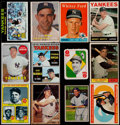 Baseball Cards:Lots, 1951-73 Topps New York Yankees Team Sets Collection (442) WithStars....