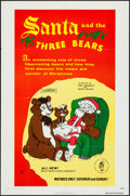 "Movie Posters:Animated, Santa and the Three Bears & Others Lot (Cinetron, 1970). One Sheets (6) (25"" X 37.75"", 27"" X 41""), Photos (3) (8"" X 10""), Ad... (Total: 13 Items)"