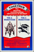 "Movie Posters:Adventure, The Three Musketeers/The Four Musketeers Combo & Other Lot(20th Century Fox, R-1975). One Sheets (2) (27"" X 41""), Program(... (Total: 8 Items)"