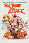 "Movie Posters:War, Ski Troop Attack (Film Group, 1960). One Sheet (27"" X 41""). War....."