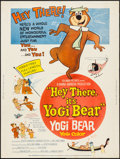 "Movie Posters:Animation, Hey There, It's Yogi Bear (Columbia, 1964). Poster (30"" X 40"").Animation.. ..."