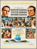 "Movie Posters:Adventure, Mutiny on the Bounty (MGM, 1962). Poster (30"" X 40""). Adventure....."