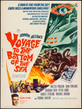 "Movie Posters:Adventure, Voyage to the Bottom of the Sea (20th Century Fox, 1961). Poster(30"" X 40""). Adventure.. ..."