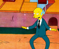 Animation Art:Production Cel, The Simpsons Mr. Burns Production Cel (Fox Studios, c. 1990s)....