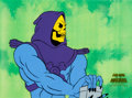 Animation Art:Production Cel, He-Man and the Masters of the Universe Skeletor ProductionCel and Drawing (Filmation, 1983)....